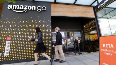 Paying at Amazon's new grocery store is fully automated, with no checkouts.