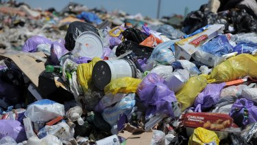Every tonne of garbage buried in landfill is taxed $63 by the Victorian government.