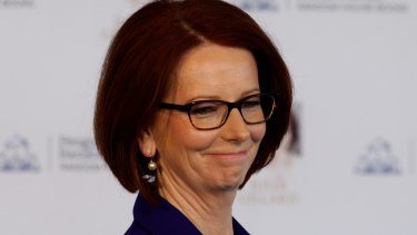 Julia Gillard: Her humour was part of the reserve of her nature.
