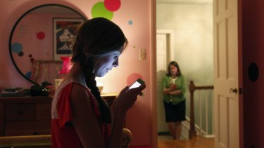In a survey, 58 per cent of teenagers said they hid stuff from their parents on their phones or devices.