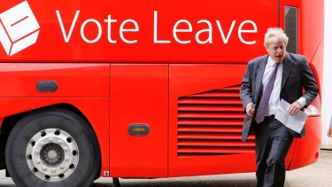 Boris Johnson has given the infamous Brexit bus fresh impetus.