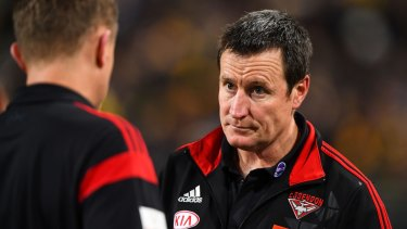 """John Worsfold: """"I asked the players if they felt better after those incidents and giving a free kick away against their teammates and you can image the response I got."""""""