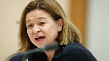 ABC managing director Michelle Guthrie has attacked the indexation freeze.
