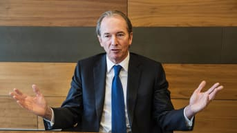 Morgan Stanley CEO James Gorman tells Trump to shed training