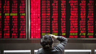 The correction on the ASX can be traced directly to Beijing.