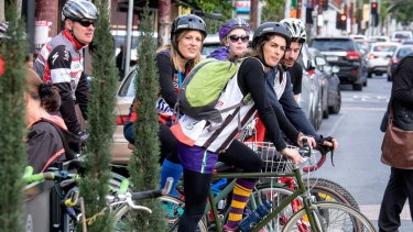Rolling on: a survey has revealed the states where cycling is most popular.