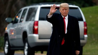 Told to resign: US President Donald Trump.