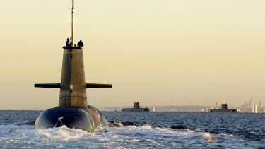 There is speculation the successful bidder for the submarine contract will be announced within days.