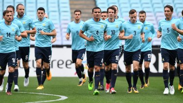 No excuses: The Socceroos have everything in their favour for Tuesday's clash against Syria.