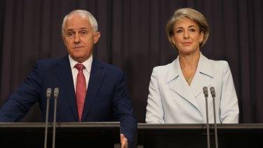 Cash faces criticism as PM attacks Labor: Prime Minister Malcolm Turnbull and Employment minister Senator Michaelia Cash.
