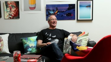 RedBubble chief executive and founder Martin Hosking is off to Antartica for his holiday.