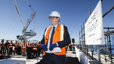 Lendlease chief executive Steve McCann said commercial development, particular in the Australian office sector, was a highlight of the first-half result.