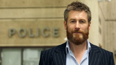 Fighting back: Vigilante hire car owner Russell Howarth.