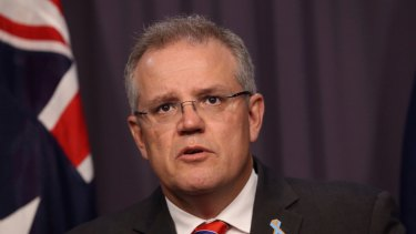 Immigration  Minister Scott Morrison details the concessions in a press conference on Wednesday.