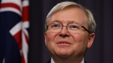 Kevin Rudd: Was this when things started to get weird?