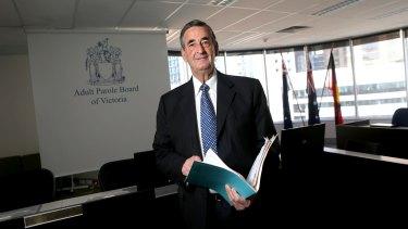 Parole Board chairman Bill Gillard.