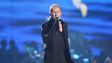 Australia-born singer-songwriter Johnny Logan, here performing in Germany in 2012, has won the Eurovision Song Contest three times.