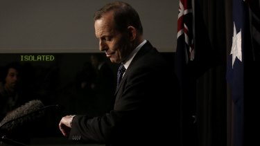 Voters polled on Tony Abbott want the former prime minister to go.