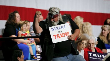White voters left disgruntled by the Obama years have proved a receptive audience for Trump.