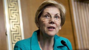 "Senator Elizabeth Warren says John Stumpf's financial sacrifice is a ""small step in the right direction""."