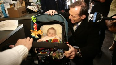 Tony Abbott pushed, then dumped a maternity leave scheme that paid new mothers their full salary for six months.