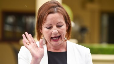 Caught in an expenses scandal, Sussan Ley was forced to stand down.