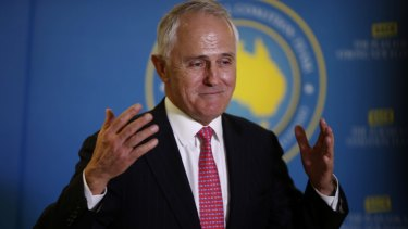 """Prime Minister Malcolm Turnbull  has declared himself a """"feminist""""."""