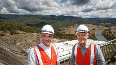 Malcolm Turnbull is a big fan of pumped hydro and Snowy 2.0.