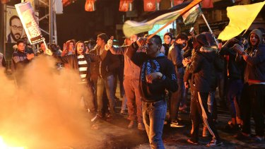 The Palestinian Authority has called for three days of rage.