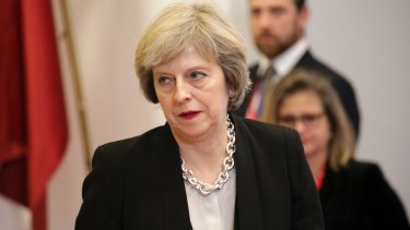EU leaders met in a separate session on Thursday evening without Prime Minister Theresa May as they try to chart the way ahead with an EU of 27 members without Britain.