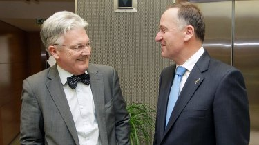 New Zealand Immigration Minister Peter Dunne and Prime Minister John Key have been openly critical of Australia's incarceration of New Zealanders offshore.