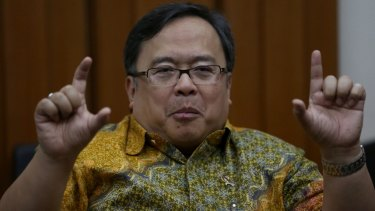 Indonesia Ministry of National Development Planning Bambang Brodjonegoro wants to see Australia investing.