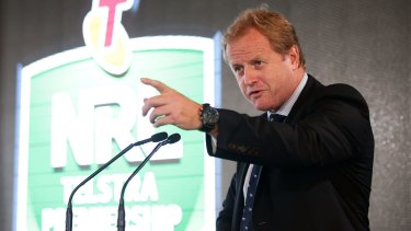 Pointing in the right direction: NRL CEO Dave Smith.