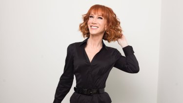 Comedian Kathy Griffin: After her Trump stunt, she could not get a publicist in Hollywood to work for her.