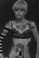 Goldie Hawn in <i>Laugh In</i>.
