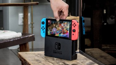 Moving from portable to home console and back again is as easy as dropping the Switfch into its dock, or lifting it out.