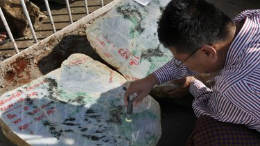 Chinese miners are flooding Myanmar to take advantage of the lucrative jade trade.