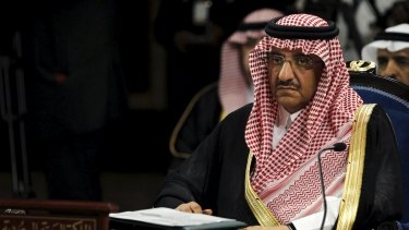 Saudi interior minister Prince Mohammed bin Naif in April.