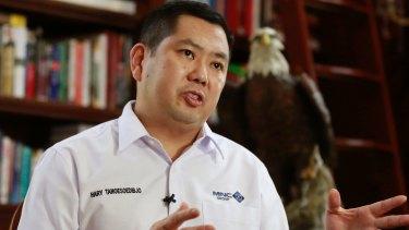 Media Nusantara Citra (MNC) Group President and CEO Hary Tanoesoedibjo in January.
