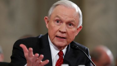 Secret meetings with Russian ambassador: Attorney-General Jeff Sessions.