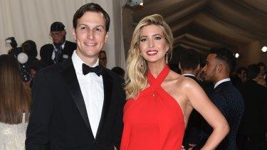 Jared Kushner, left, and Ivanka Trump.