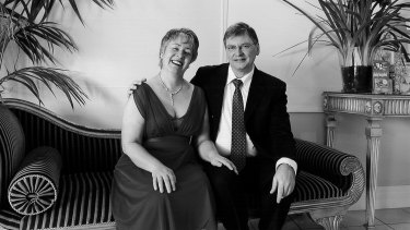 Susan Pierotti and Peter Orr.