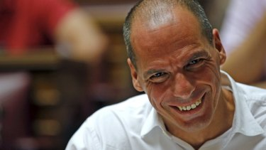 Former Greek Finance Minister Yanis Varoufakis.