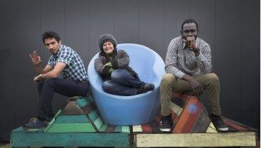 Milad Norouzi, Irine Vela and Ez Eldin Deng of <i>GrandDiVisions</i>.