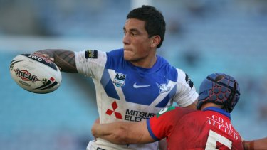Controversial departure: Sonny Bill Williams left the Bulldogs to play rugby just one year into a five-year deal.