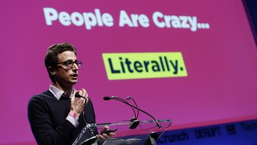 Tapping the bored-at-work network: BuzzFeed co-founder Jonah Peretti.