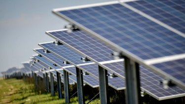 There has been an extraordinary 7600 per cent increase in small scale solar power.