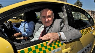 Allan Fels chaired a review into Victoria's taxi industry.