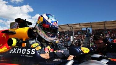 Daniel Ricciardo finished fourth in his home grand prix