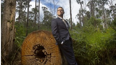 Bradley Fauteux, the new chief executive of Parks Victoria.